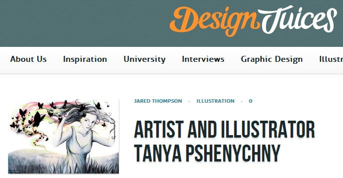 Featured on Design Juices