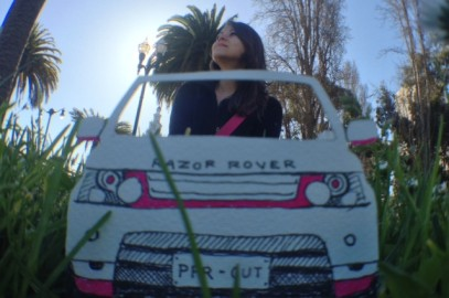 Traveling San Francisco in the Razor Rover