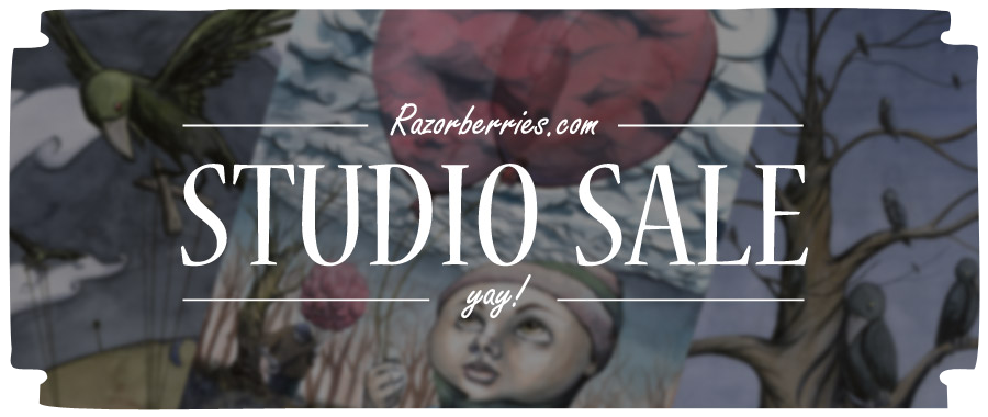 Razorberries Studio Sale