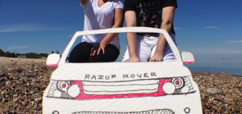 Traveling Indiana Dunes in the Razor Rover