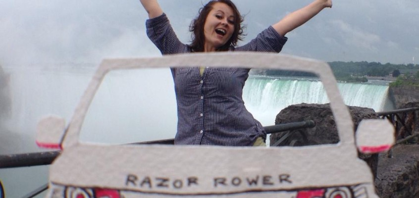 Traveling Niagara Falls in the Razor Rover