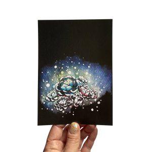 Organic Fireworks 5x7 Limited Edition Print